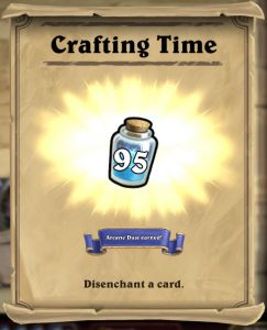 Hearthstone Videos Arcane Dust